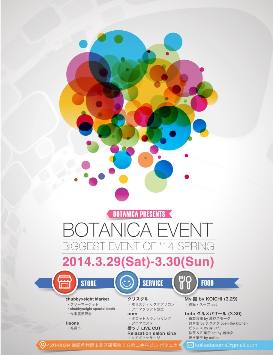 BOTANICA EVENT BIGGEST OF '14 SPRING