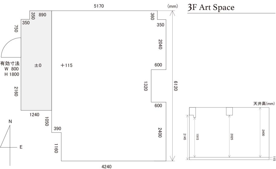 Botanica_3F Art Space_Map